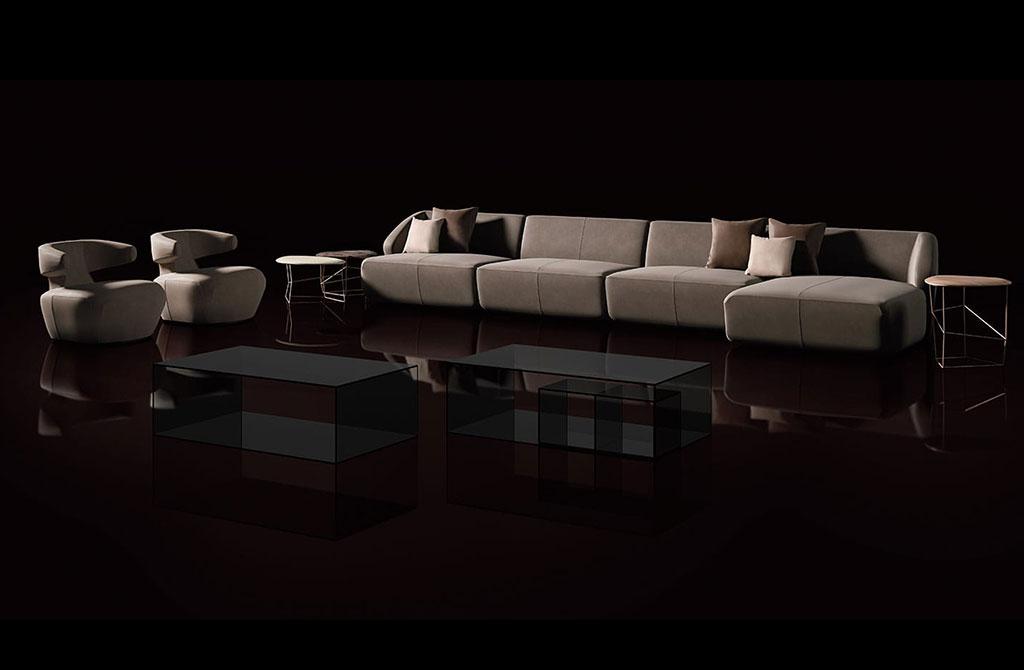 Divani moderni e di design di ego zeroventriquattro for Arredamento divani