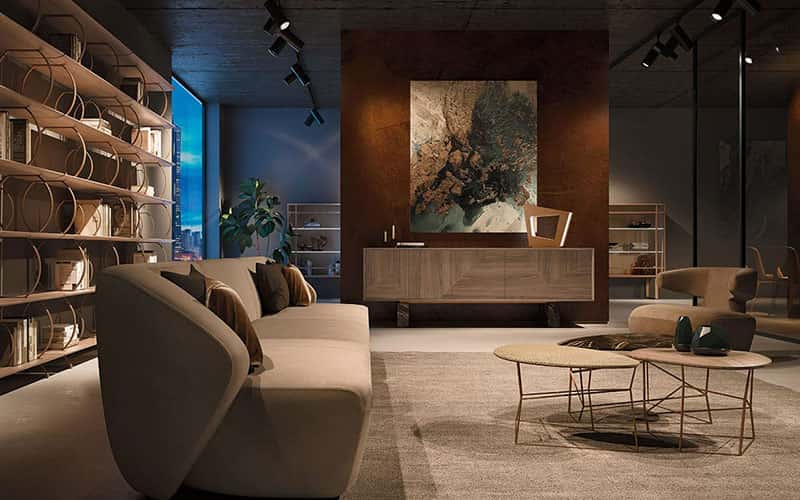 Arredamento lusso moderno for Arredamento soggiorno moderno di lusso