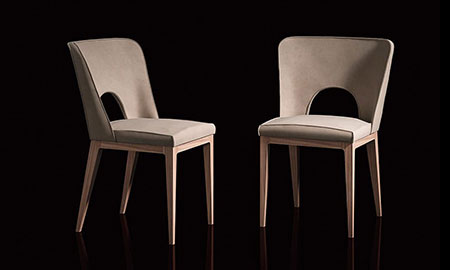 Sedie moderne di design di Ego Zeroventriquattro